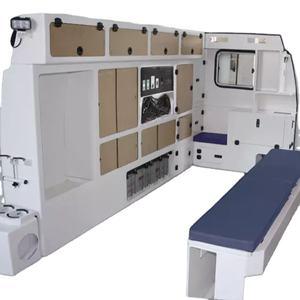 ambulance conversion-aluminum ambulance cabinet