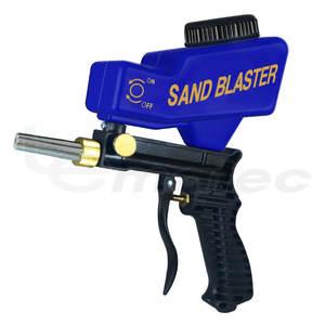 Pneumatic Tools Sandblaster Portable Media Blaster LEMATEC Sand Blasting Nozzle Gun Air Sandblasting