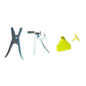 Animal & Poultry Husbandry Equipment Ear Tagging Kit
