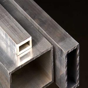 Aluminium pipe rectangular ( IS - 65032 / BS - HE-20 / AA - 6061 )